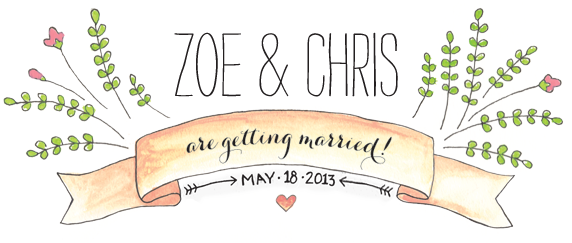 Zoe & Chris are Getting Married!